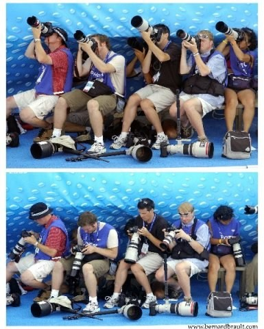 Спортивные фотографы