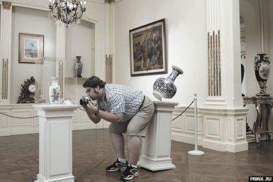 Неуклюжий фотограф