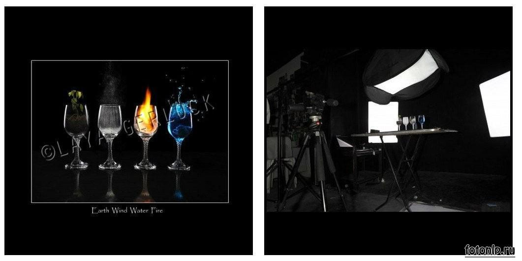 Схемы света для фотосессии в фотостудии - Фото №967