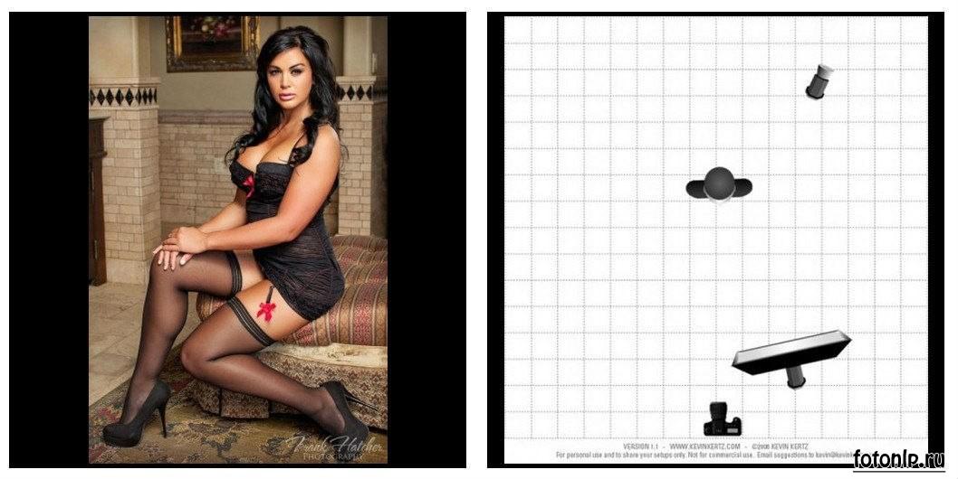 Схемы света для фотосессии в фотостудии - Фото №1045