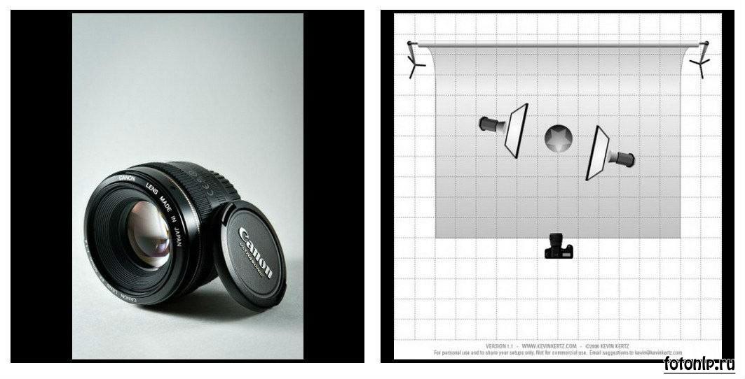 Схемы света для фотосессии в фотостудии - Фото №952