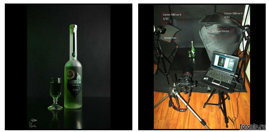 Схемы света для фотосессии в фотостудии - Фото №957