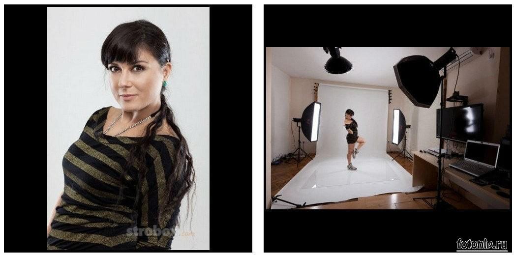 Схемы света для фотосессии в фотостудии - Фото №1085