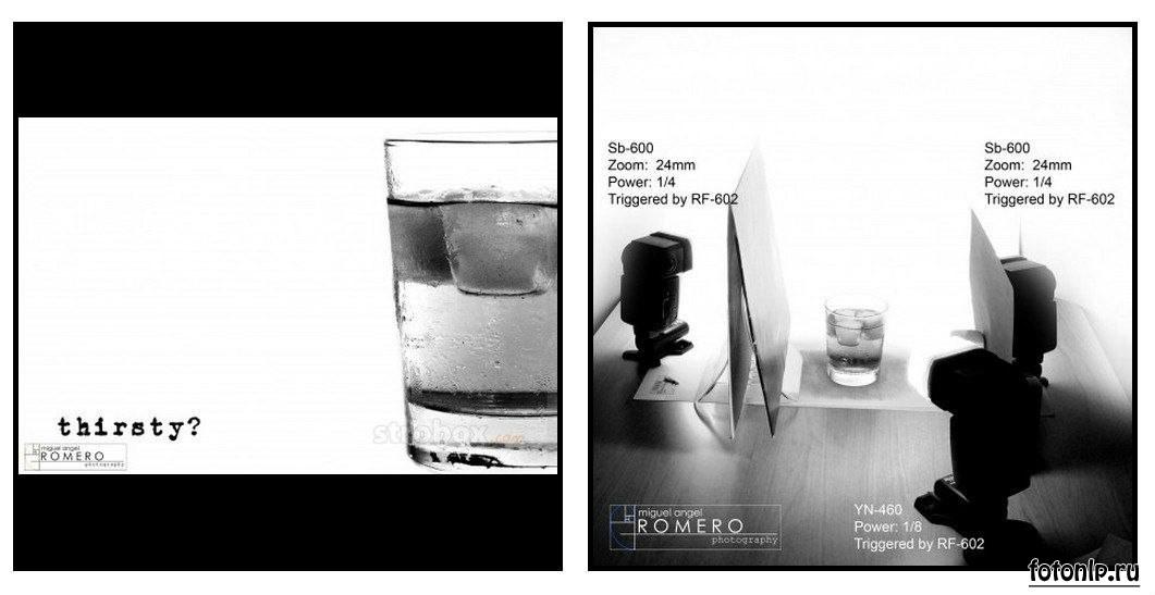 Схемы света для фотосессии в фотостудии - Фото №907
