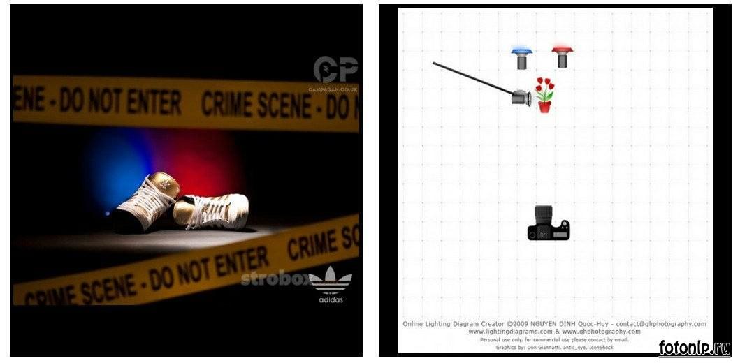 Схемы света для фотосессии в фотостудии - Фото №962