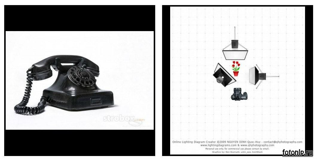 Схемы света для фотосессии в фотостудии - Фото №970