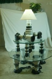 Светильник из фототехники для фотогграфа