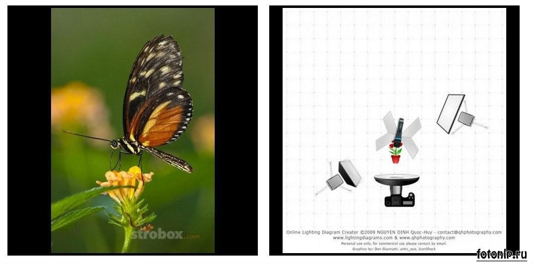 Схемы света для фотосессии в фотостудии - Фото №878