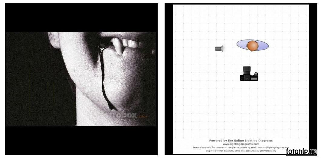 Схемы света для фотосессии в фотостудии - Фото №1094