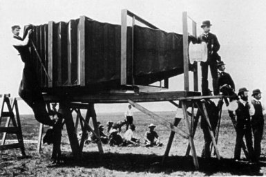 Первый фотоаппарат