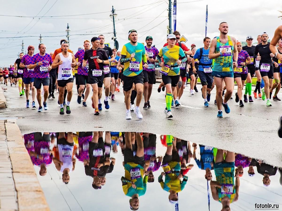 Фотосъёмка бега в Санкт-Петербурге